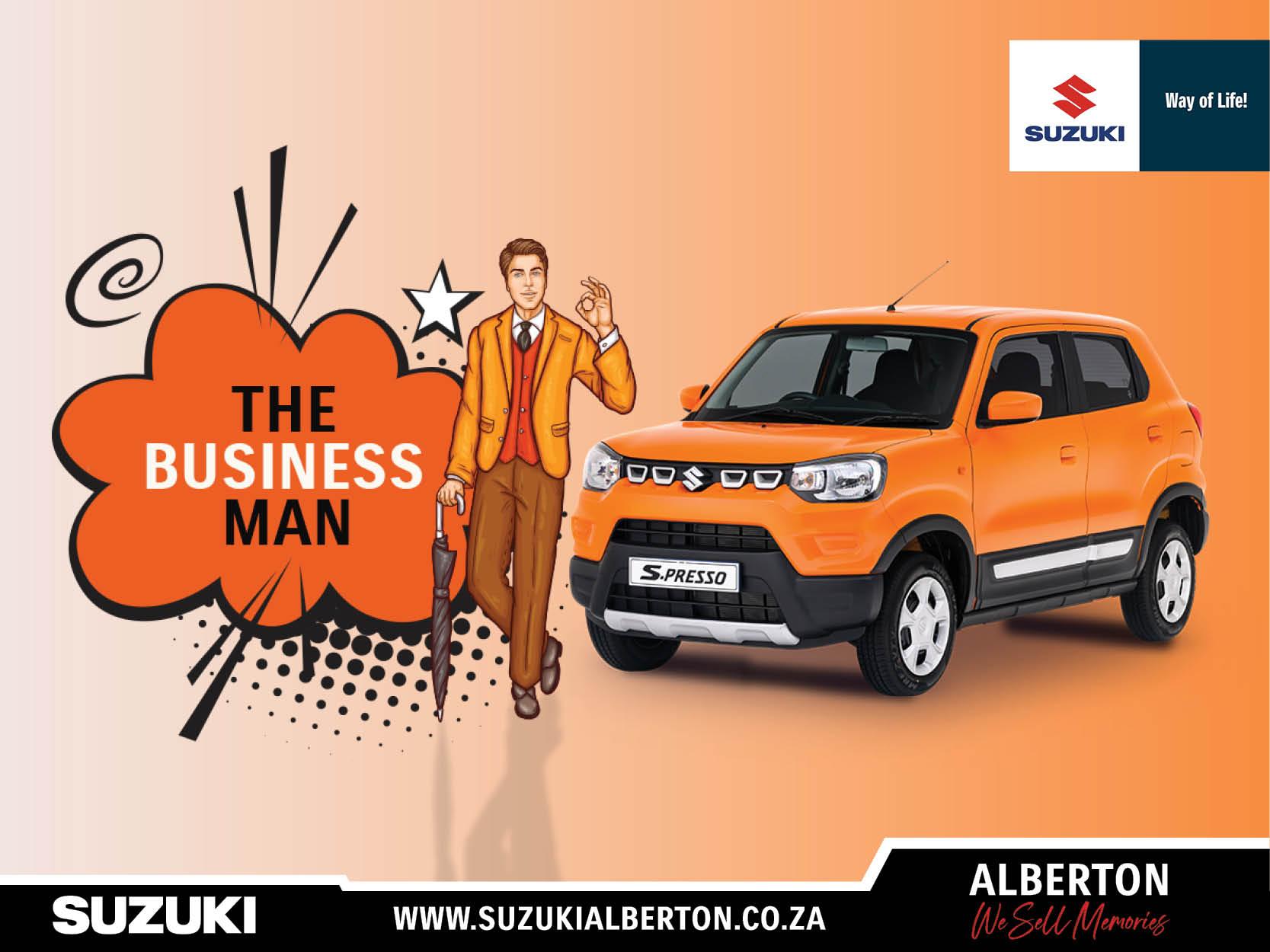 Suzuki Alberton - S-Presso 1