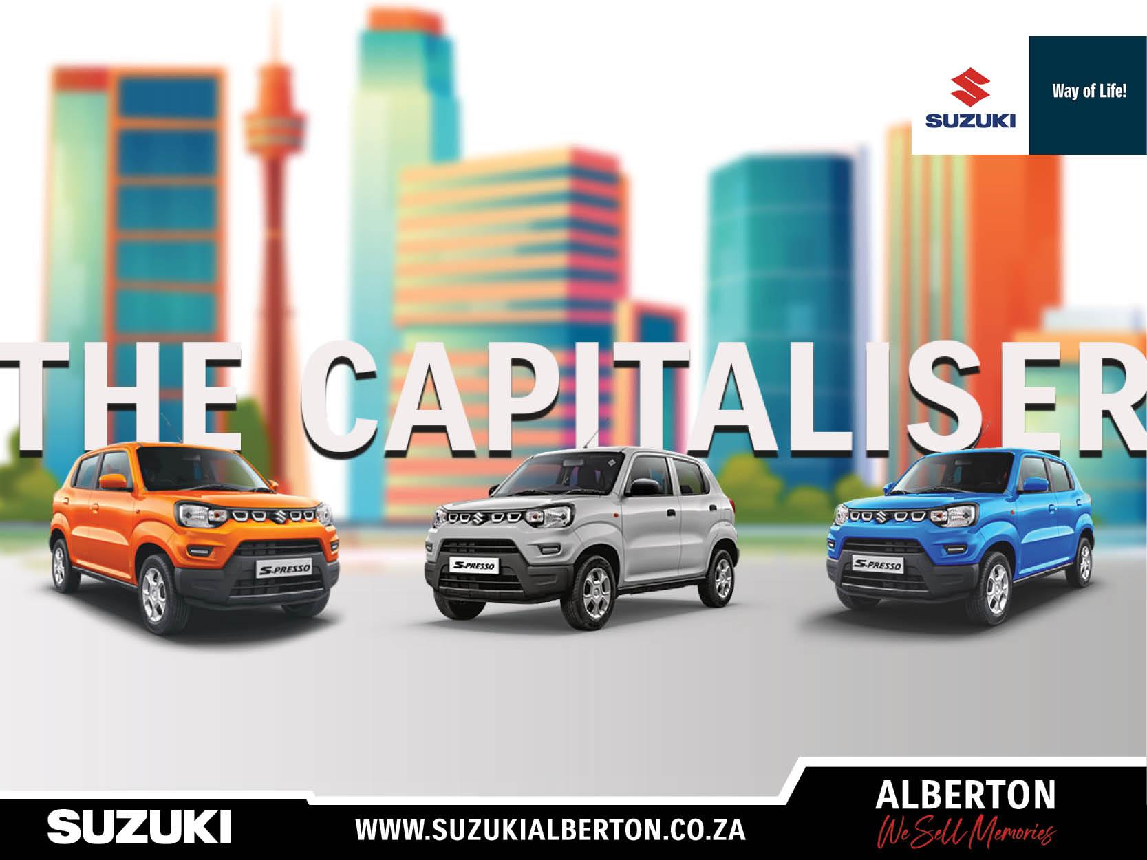 Suzuki Alberton - S-Presso 2