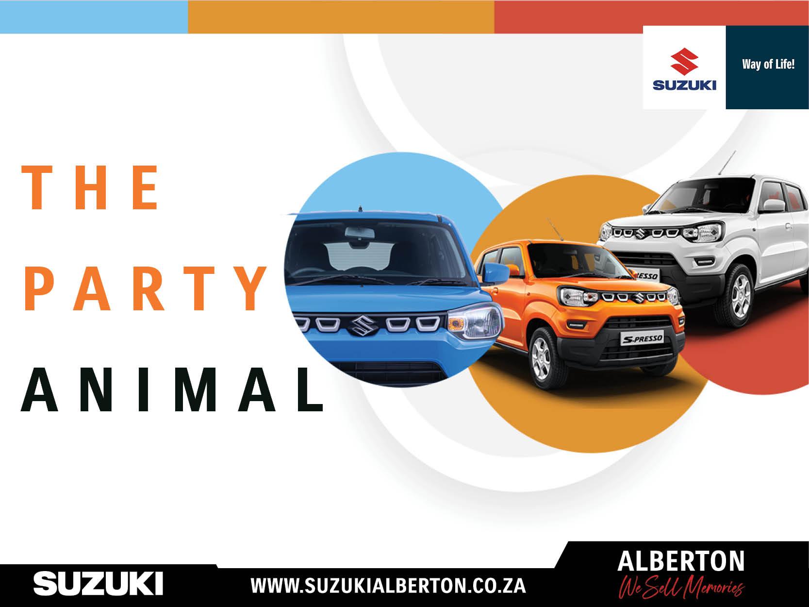 Suzuki Alberton - S-Presso 3